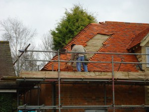 Tiled barn conversion at East Hendred Oxfordshire