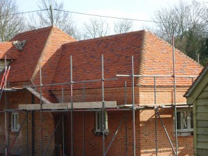Tiled barn conversion nearly completed