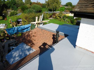Flat roof covering using the sealoflex system view angle 2