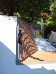 View angle 1 of the Sealoflex flat roof finished