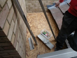 The GRP rainwater system