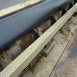 Pressure treated roof timbers
