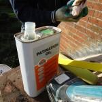 Lead work patination liquid