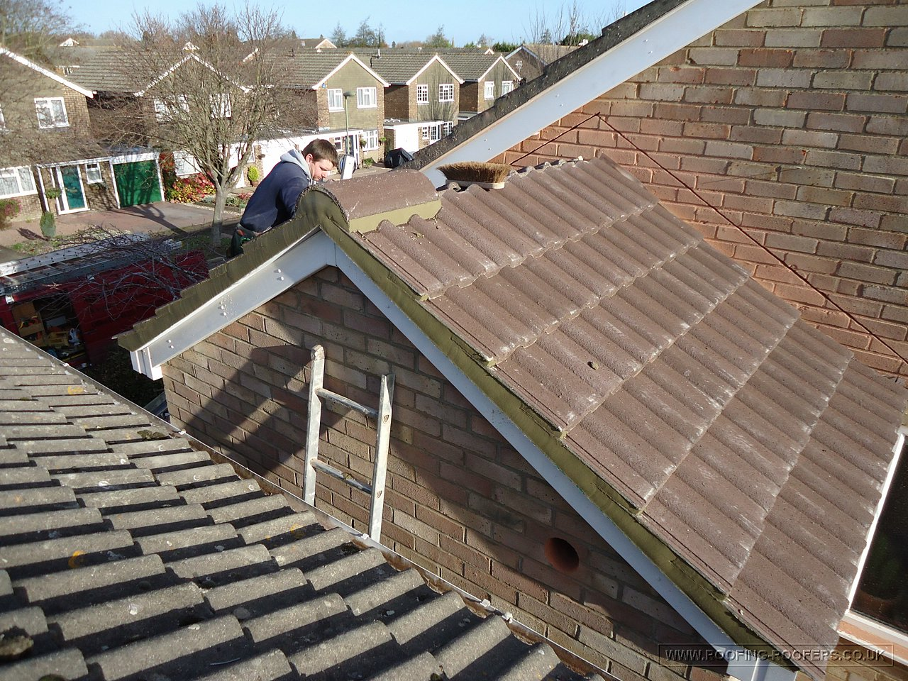 Tiled Extension Roof At Abingdon Oxfordshire Roofing And