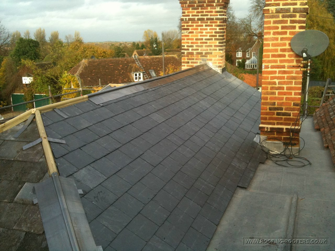 Natural Slate Roof Roofing And Building Repairs Specialists