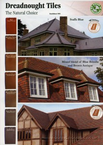 Dreadnought tiles the natural choice since 1805