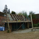 Re-roofing of grade 2 listed outbuildings Oxfordshire