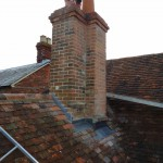 Chimney repairs to include re-pointing and new lead work