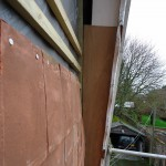 Tiles hung using quality fixings designed to last in all weather conditions