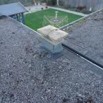 Torched on felt roof original materials