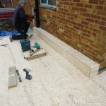 Boxing out ready for GRP covering