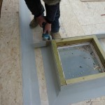 Profiles accurately cut to undertake the work they need to in weathering in the roof